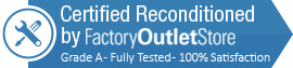 Certified Reconditioned by FactoryOutletStore