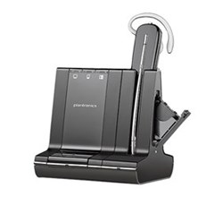 Plantronics Reconditioned Savi Series Wireless Headset Plantronics Savi W745 M Microsoft Optimized