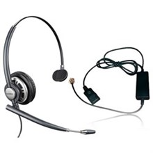 Plantronics Reconditioned Corded Headsets plantronics encoreprohw291n mono with a10