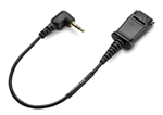 Plantronics Adapter QDto2.5mm Cisco 65287-01 Quick Disconnect Adapter