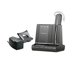 Plantronics Reconditioned Savi Series Wireless Headset plantronics savi w745with lifter