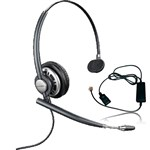 Plantronics EncorePro HW710-R with A10 Monaural Noise-Cancelling Heads