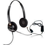 Plantronics EncorePro HW520V with A10 Binaural Noise-Cancelling Headse
