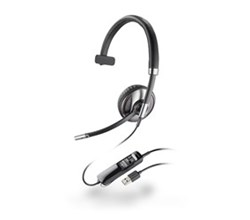 Plantronics Reconditioned Corded Headsets blackwire c710