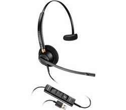 Hot Deals plantronics encorepro hw515 usb mono