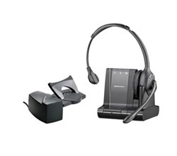Office Bluetooth Headsets plantronics savi w710 with lifter