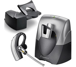 Plantronics Reconditioned Wireless and Corded Headsets PL CS70 with lifter