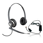 Plantronics EncorePro HW720 with A10-R (Single Pack) Stereo Corded Hea