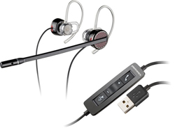 Plantronics Corded Headsets plantronics blackwire c435 m