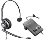 Plantronics EncorePro HW291N with M22 Monaural Wideband USB Headset