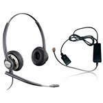 Plantronics EncorePro HW301N with A10 EncorePro Corded Headset