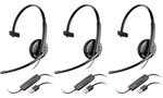 Plantronics Blackwire C310-M-3 BlackwireC310 Corded Headset