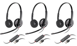 Plantronics Blackwire C320-3 BlackwireC320 Corded Headset
