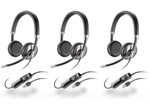 Plantronics Blackwire C720-M (3 Pack) Corded USB Headset