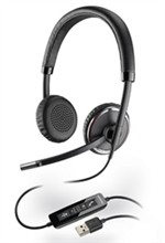 Plantronics Corded Headsets plantronics blackwirec520 m