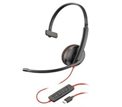 Plantronics USB Headsets plantronics blackwire c3210 usb c