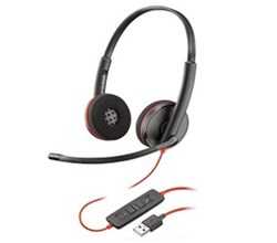 Plantronics USB Headsets plantronics blackwire c3220 usb a