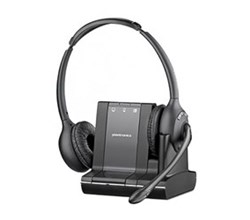 Plantronics Reconditioned Savi Series Wireless Headset plantronics savi w 720