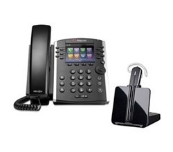 Bundles with CS540 polycom vvx 400 with plantronics cs540