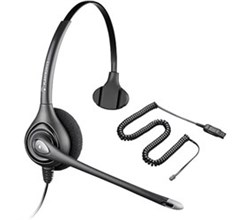 Plantronics Headsets for Polycom plantronics supraplus hw251nfree upgrade to encorepro hw510 w/ a10 adapter