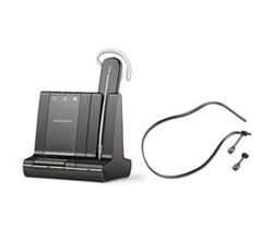 Plantronics Top Business Headsets  plantronics savi w740 with neckband 84606 01