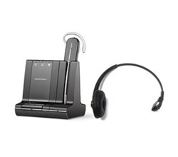 Plantronics Reconditioned Savi Series Wireless Headset plantronics savi w740 with headband 84605 01
