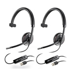 Plantronics Blackwire C510-M-2 Mono Corded Headset
