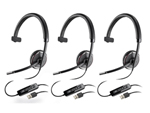 Plantronics Blackwire C510-M-3 Mono Corded Headset