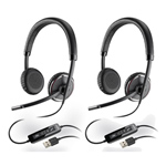 Plantronics Blackwire C520-M-2 Stereo Corded Headset