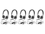 Plantronics Blackwire C520-M-5 Stereo Corded Headset