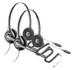 Plantronics SupraPlus PW261N-2 Dual Earpiece Wideband Headset