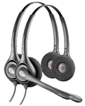 Plantronics SupraPlus HW261N-2 Dual Earpiece Wideband Headset