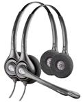 Plantronics SupraPlus HW261N-2 Dual Earpiece Wideband Headset