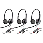 Plantronics BlackwireC325-3 Stereo Corded Headset