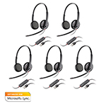 Plantronics BlackwireC325-M-5 Stereo Corded Headset